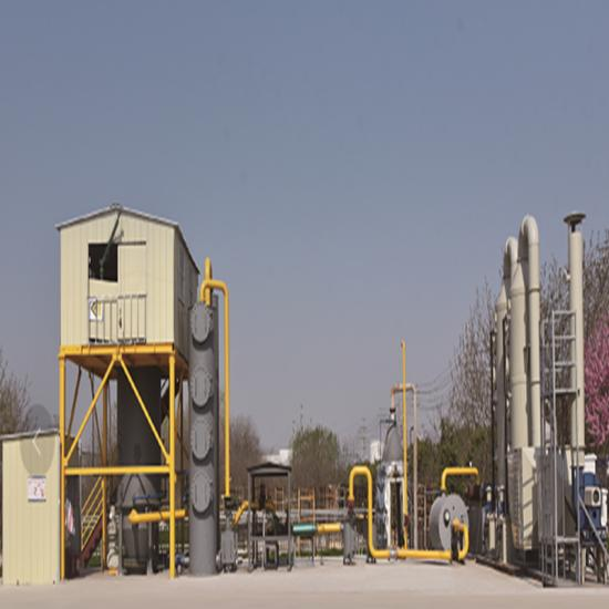 DFG Pyrolysis Gasification & Power Generation System -EBOOMYA